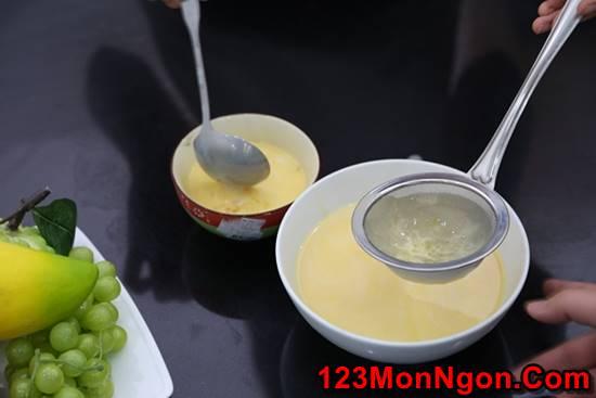 Cách làm bánh flan bằng lò vi sóng đơn giản mà thơm ngon hấp dẫn phần 12