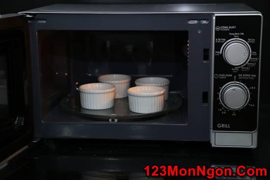 Cách làm bánh flan bằng lò vi sóng đơn giản mà thơm ngon hấp dẫn phần 14