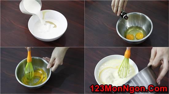Cách làm bánh flan bằng nồi cơm điện đơn giản mà cực hấp dẫn ngon tuyệt phần 3