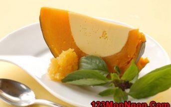Cách làm bánh flan bí đỏ bổ dưỡng thơm ngon đãi cả nhà thưởng thức ngày hè