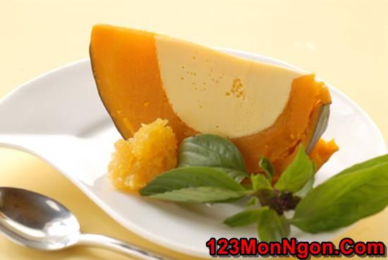 Cách làm bánh flan bí đỏ bổ dưỡng thơm ngon đãi cả nhà thưởng thức ngày hè phần 7