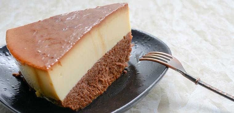 Cách làm bánh flan bông lan vị Chocolate đậm đà béo ngậy cực ngon miệng phần 1