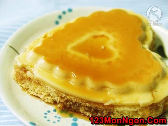 Cách làm bánh flan gato mềm xốp thơm ngon mới lạ ăn là ghiền phần 1
