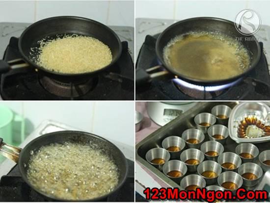 Cách làm bánh flan gato mềm xốp thơm ngon mới lạ ăn là ghiền phần 2