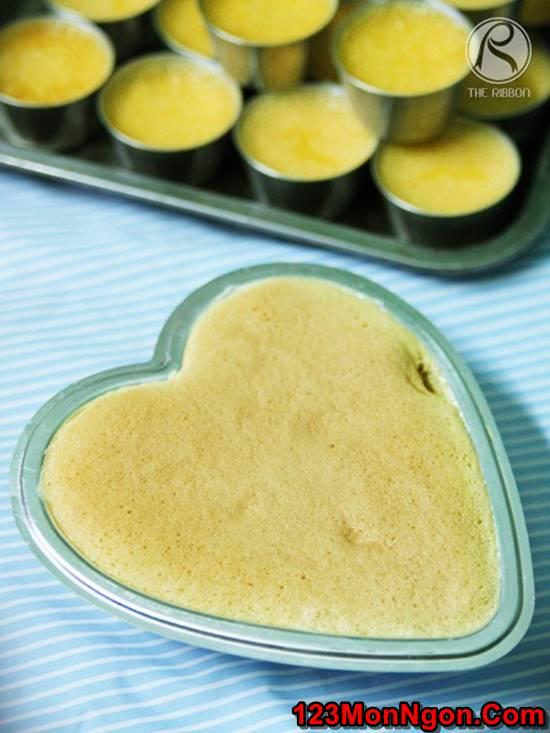 Cách làm bánh flan gato mềm xốp thơm ngon mới lạ ăn là ghiền phần 6