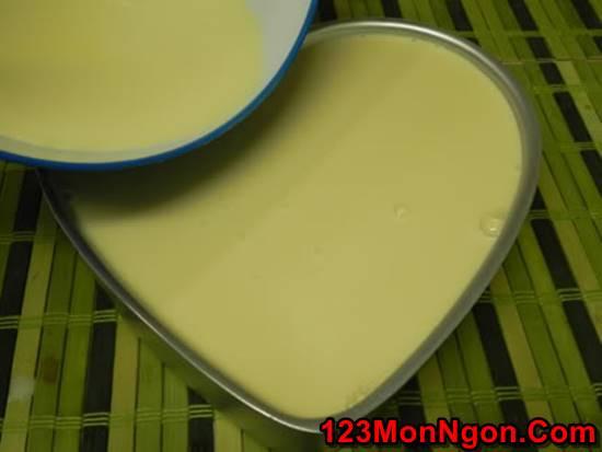 Cách làm bánh flan hình trái tim thơm ngon đẹp mắt tặng người thương phần 6