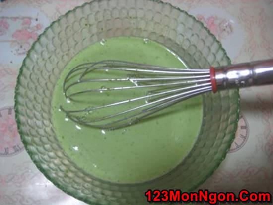 Cách làm bánh flan lá dứa đẹp mắt thơm lừng cực ngon phần 2