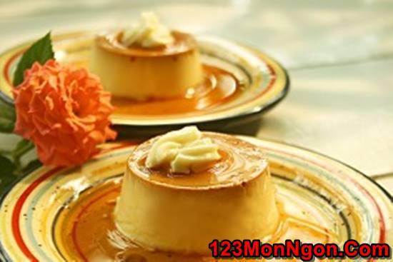Cách làm bánh flan sầu riêng đặc biệt thơm ngon quyến rũ ăn là ghiền phần 8
