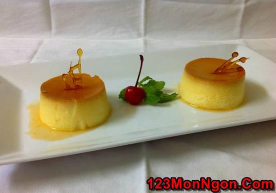 Cách làm bánh flan thơm ngon béo ngậy cho các bé thưởng thức phần 7