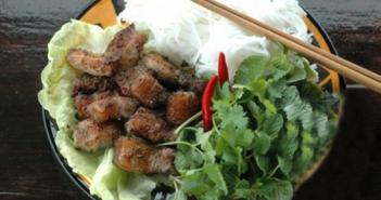 Cách làm bún thịt nướng riềng thơm lừng hấp dẫn cực ngon đổi vị cuối tuần
