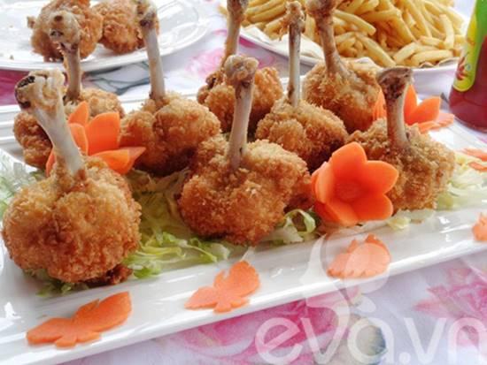 Cách làm món cánh gà rút xương chiên xù thơm giòn ngon miệng cực hấp dẫn phần 10