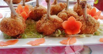 Cách làm món cánh gà rút xương chiên xù thơm giòn ngon miệng cực hấp dẫn