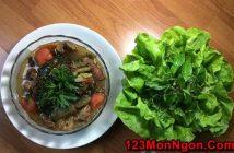 Cách làm món gân bò hầm dưa chua đậm đà thơm ngon ngày nắng