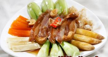 Cách làm món hải sâm nấu rau củ bổ dưỡng thơm ngon ăn là ghiền