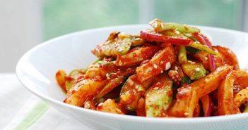 Cách làm món Salad mực kiểu Hàn Quốc thơm ngon bổ dưỡng cực hấp dẫn