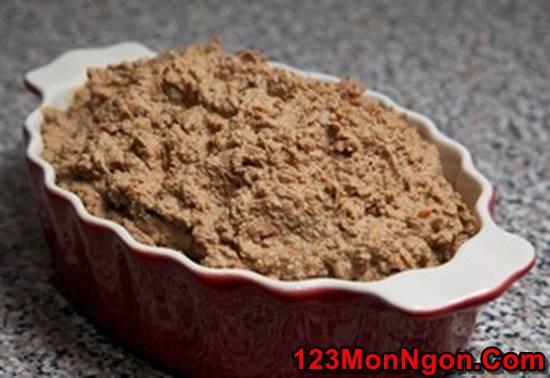 Cách làm pate gan gà thơm ngon bổ dưỡng ngay tại nhà phần 8