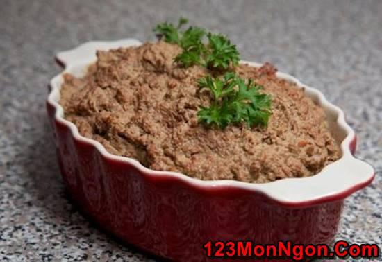 Cách làm pate gan gà thơm ngon bổ dưỡng ngay tại nhà phần 9
