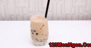 Cách làm trà sữa trân châu đơn giản mà thơm ngon hấp dẫn uống là mê