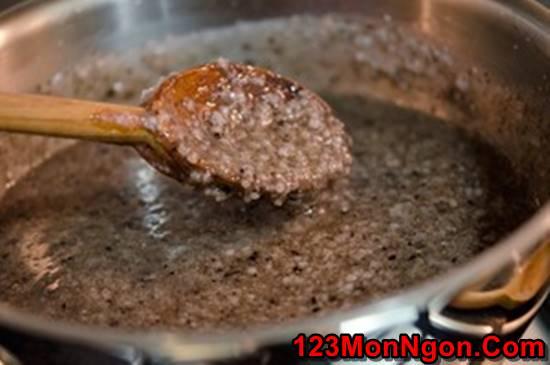 Cách nấu cháo vừng đen bổ dưỡng thơm ngon cho ngày Rằm ăn chay phần 6