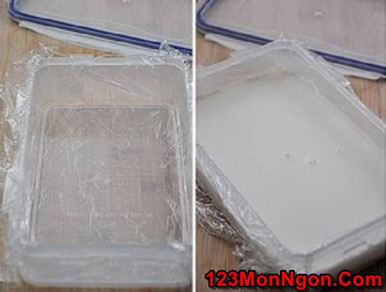 Cách làm bánh khúc bạch mát lạnh thơm ngon ăn là ghiền phần 4