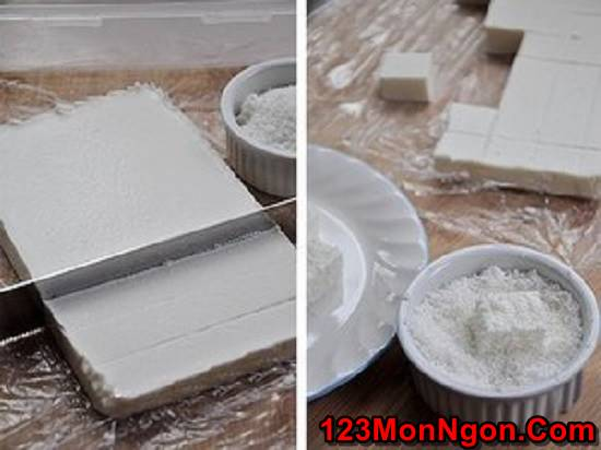 Cách làm bánh khúc bạch mát lạnh thơm ngon ăn là ghiền phần 5