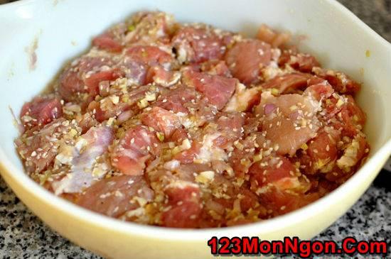 Cách làm bún thịt nướng thơm lừng cực ngon dễ ăn ngày hè nắng nóng phần 3