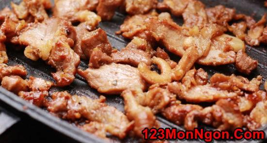 Cách làm bún thịt nướng thơm lừng cực ngon dễ ăn ngày hè nắng nóng phần 5
