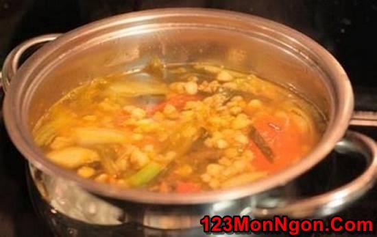 Cách làm canh hến nấu dưa cải chua thơm ngon thanh mát cho ngày hè phần 6