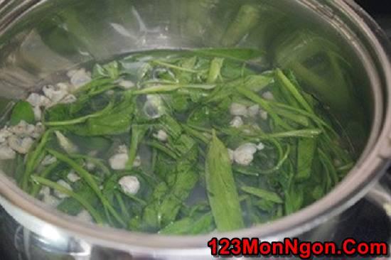 Cách làm canh hến nấu rau muống ngọt mát thơm ngon đưa cơm ngày hè phần 6