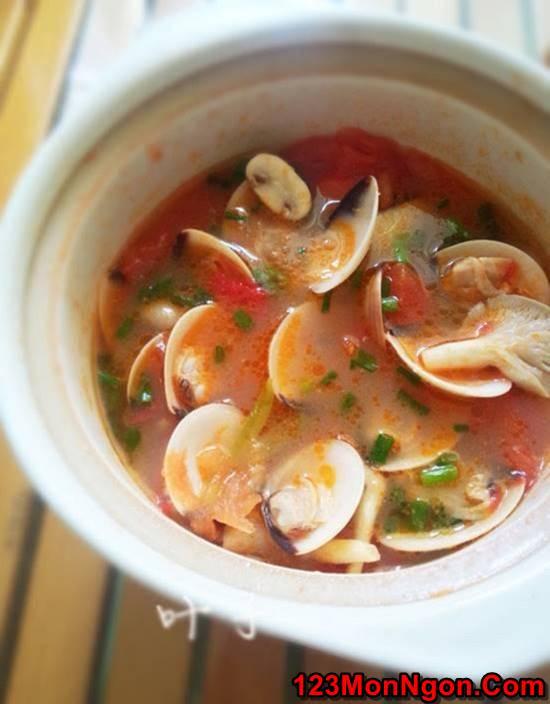 Cách làm canh ngao nấu nấm ngọt thơm thanh mát ngon cơm ngày hè phần 6