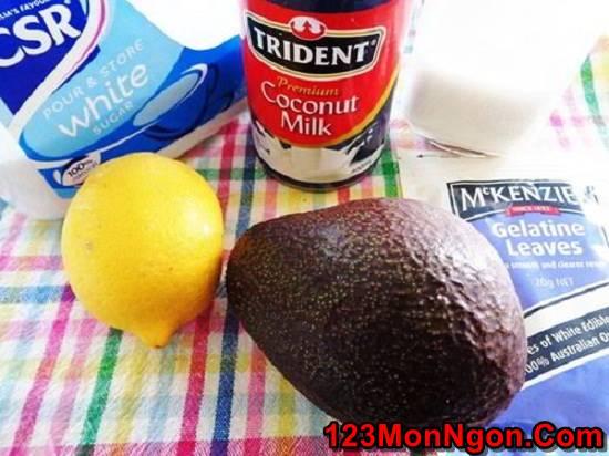 Cách làm chè bơ thơm ngon ngọt mát cực đã cực ghiền phần 2