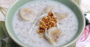 Cách làm chè chuối nước cốt dừa đơn giản thơm ngọt giải nhiệt ngày hè