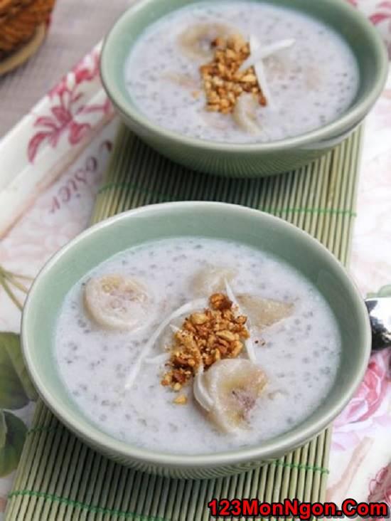 Cách làm chè chuối nước cốt dừa đơn giản thơm ngọt giải nhiệt ngày hè phần 8