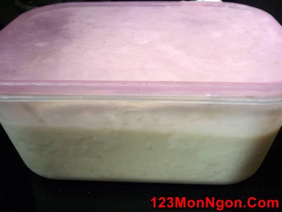 Cách làm kem đậu xanh mát lạnh thơm ngon xua tan cái nắng ngày hè phần 5