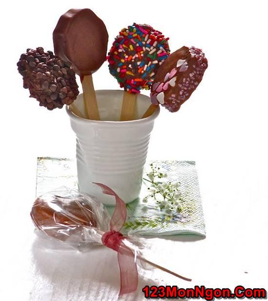 Cách làm kem kiwi bọc socola ngọt mát thơm ngon giải nhiệt ngày hè phần 10