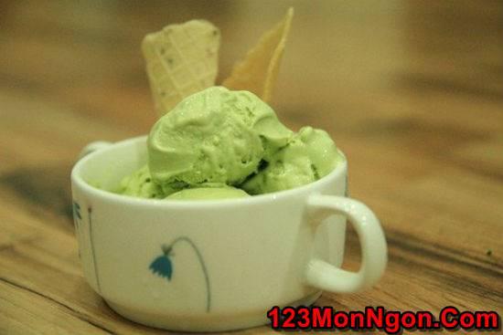 Cách làm kem matcha trà xanh mát lạnh thơm ngon cho ngày hè phần 1