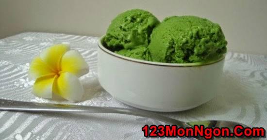 Cách làm kem matcha trà xanh mát lạnh thơm ngon cho ngày hè phần 5