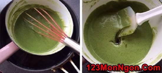 Cách làm kem trà xanh thanh mát bổ dưỡng thanh nhiệt ngày hè phần 4