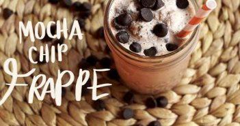 Cách làm Mocha chip Frappe đơn giản mà cực thơm ngon hấp dẫn
