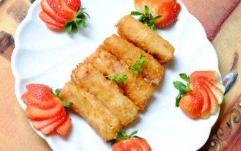 Cách làm món nem chay hoa quả lạ miệng đơn giản giòn ngon