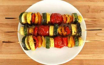Cách làm món rau củ nướng thơm lừng hấp dẫn cực ngon