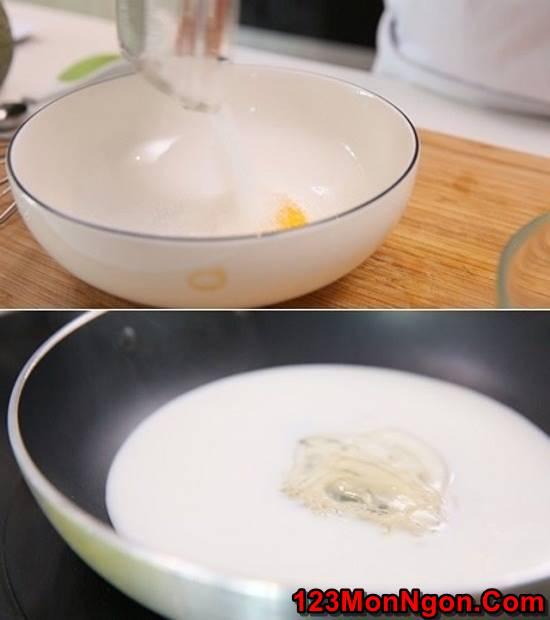 Cách làm mousse dưa lưới mát bổ thơm ngon tráng miệng trưa hè phần 3