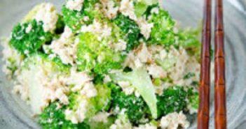 Cách làm salad bông cải xanh đậu phụ thơm ngon bổ dưỡng thanh mát