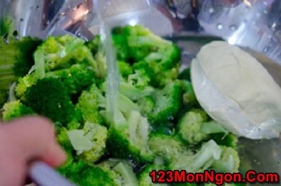 Cách làm salad bông cải xanh đậu phụ thơm ngon bổ dưỡng thanh mát phần 7
