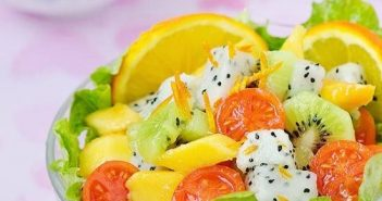 Cách làm salad hoa quả tươi ngon hấp dẫn cực mát cho ngày hè