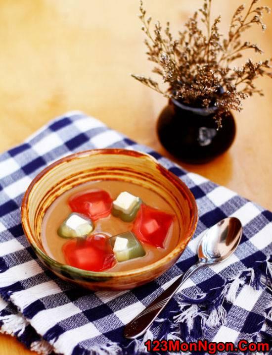 Cách làm thạch rau câu phô mai mát lạnh thơm béo tráng miệng cực ngon phần 1