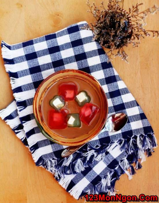 Cách làm thạch rau câu phô mai mát lạnh thơm béo tráng miệng cực ngon phần 8