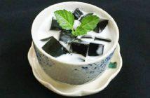 Cách làm thạch sương sáo nước cốt dừa thơm mát tuyệt ngon đã khát ngày nóng