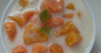 Cách nấu chè bí đỏ nước cốt dừa thơm ngon bổ dưỡng đãi cả nhà
