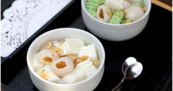 Cách nấu chè khúc bạch thơm mát ngon ngọt cực hấp dẫn mùa hè